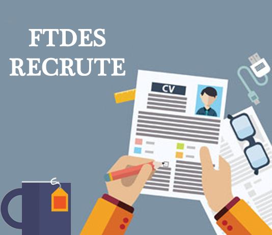 Le FTDES reccrute: coordinateur / coordinatrice – interne