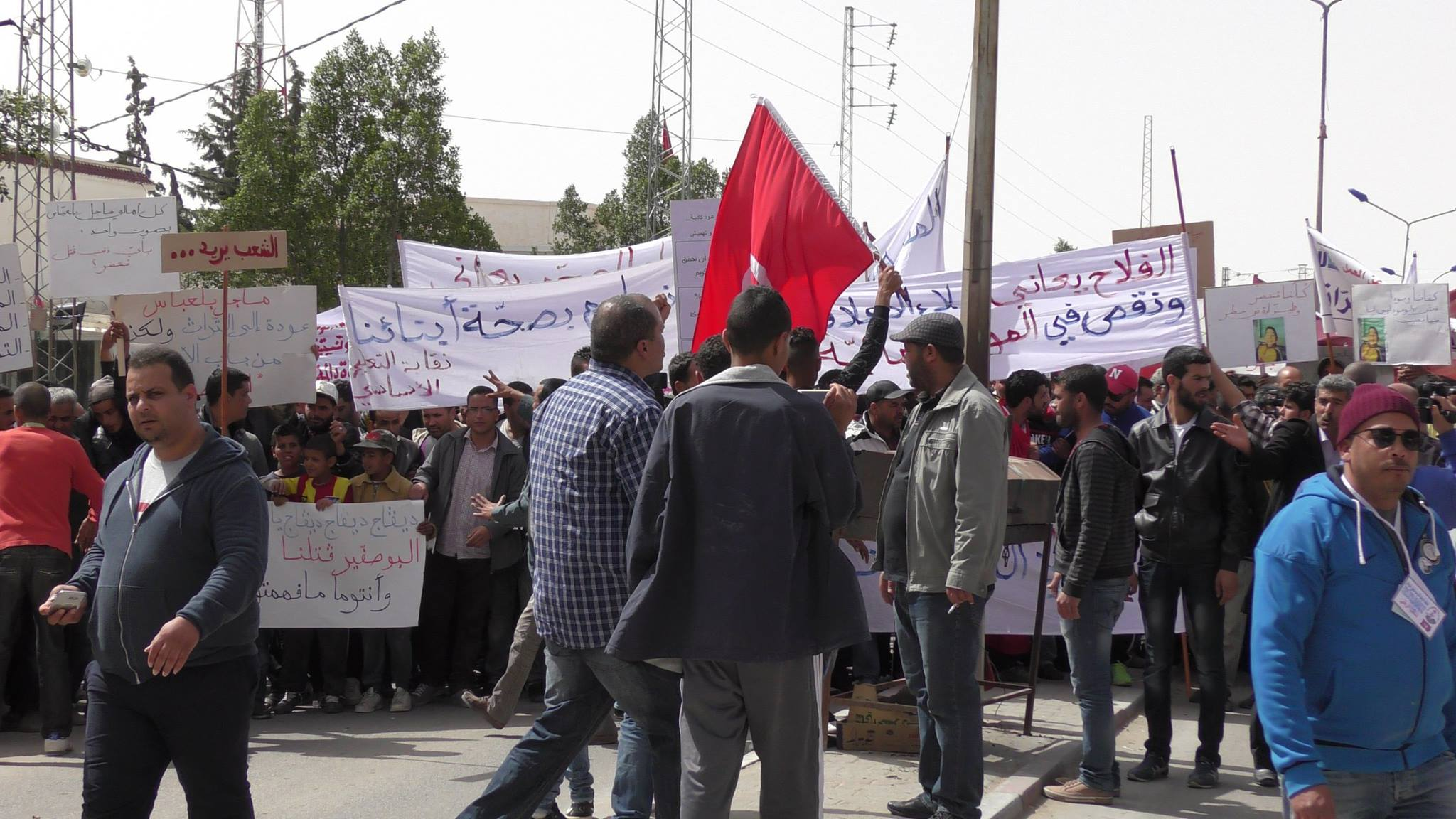 (العربية) بيان: منعرج جديد في التعاطي مع الحركات الاجتماعية