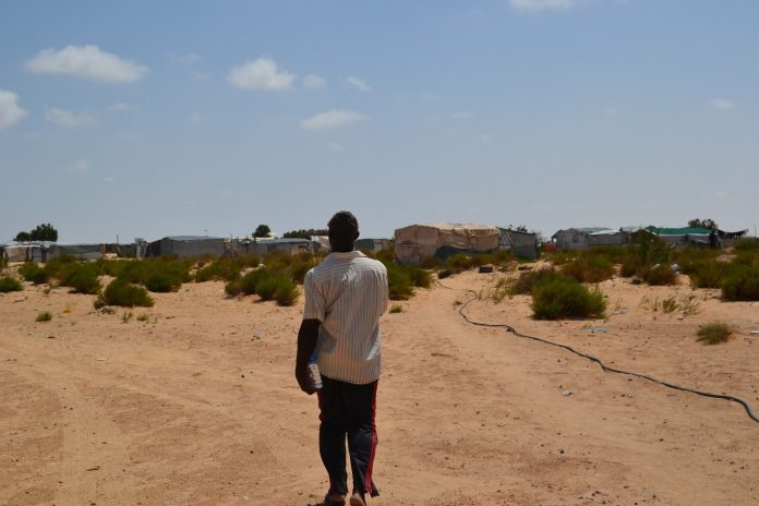 TUNISIE : Evacuation du camp de Choucha