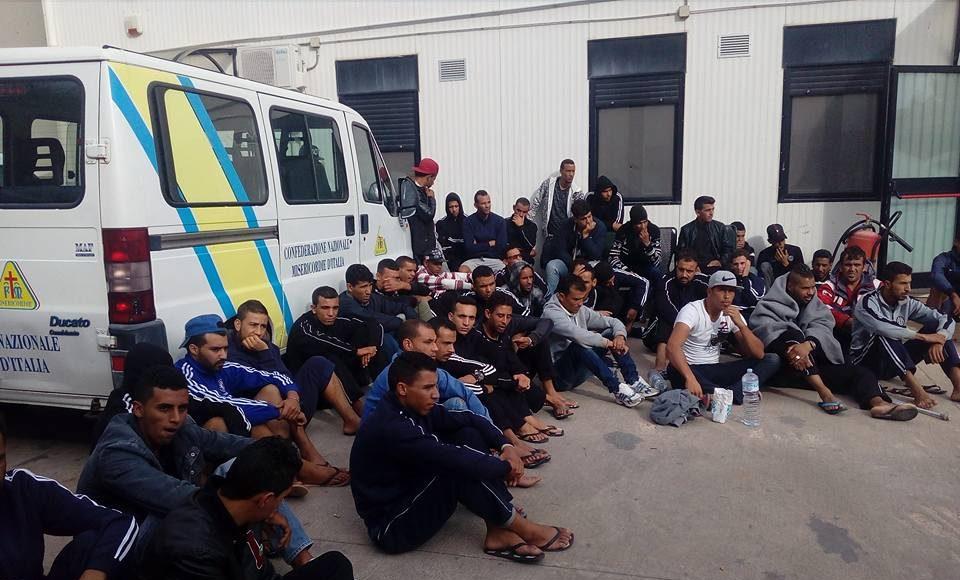 Communiqué des jeunes tunisiens à Lampedusa