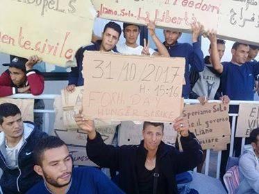 Message numéro 2 des 63 Tunisiens en grève de la faim