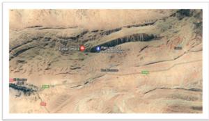 Localisation de la réserve De Orbata